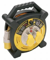 MASTERPLUG LVHLT2516/2  Cable Reel 110V, 2X 16A, 25M